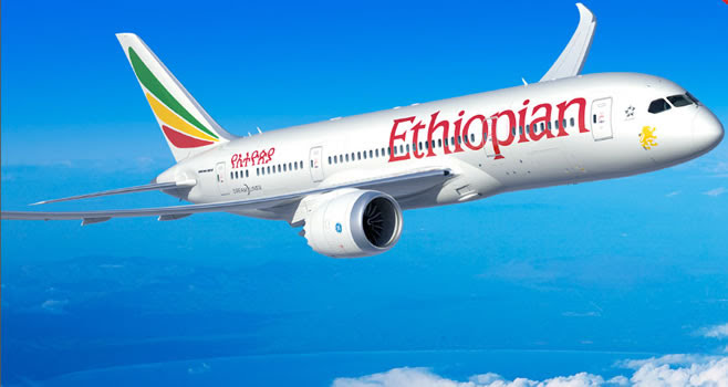 This Ethiopian Aircraft flew with only women onboard